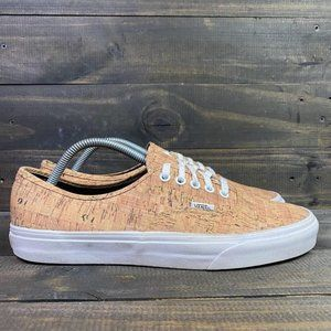 VANS Off The Wall Men's Sneakers Size 10.5 Light Wood Colored Skate Shoes
